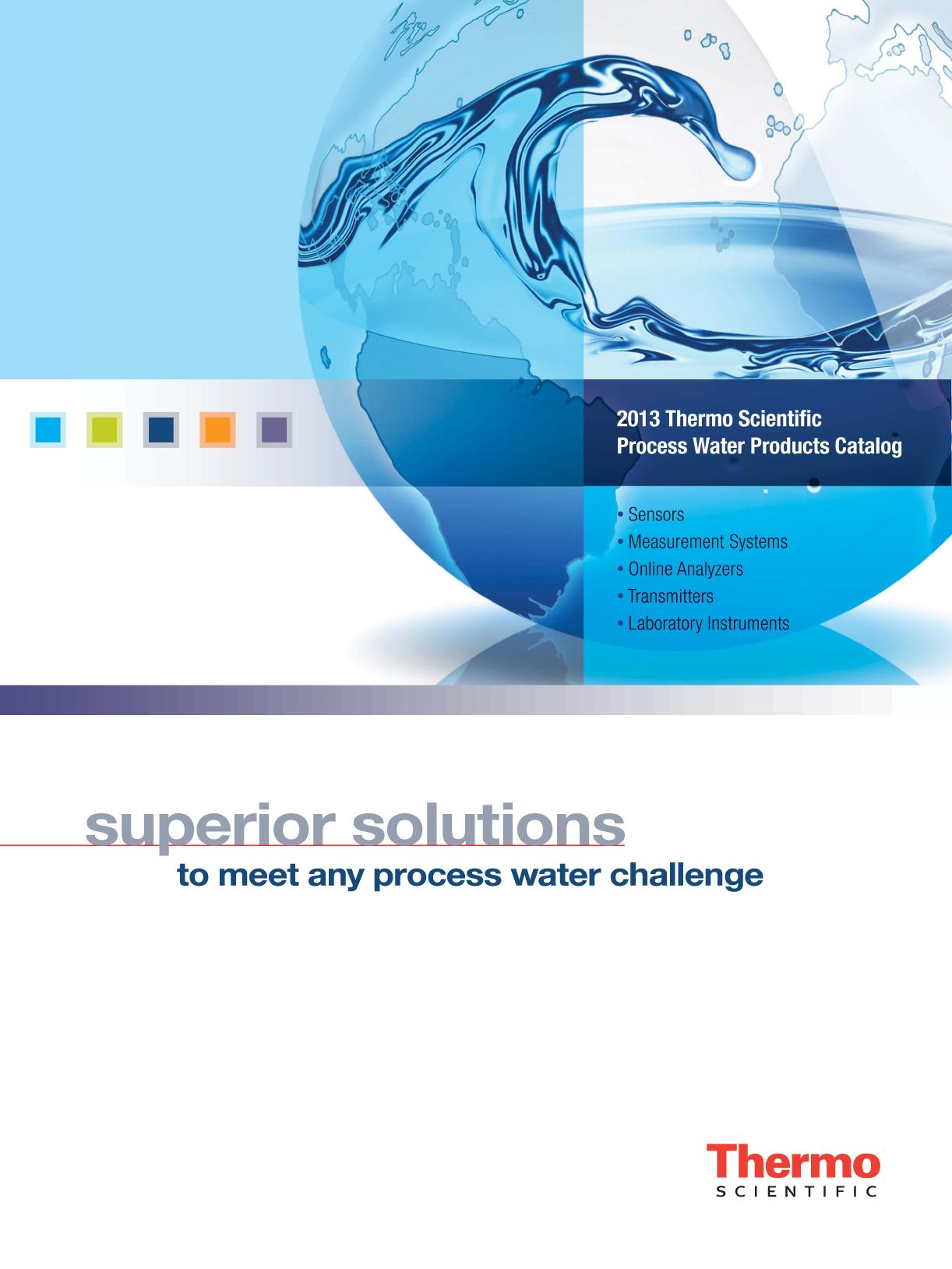 Thermo Scientific Process Water Products